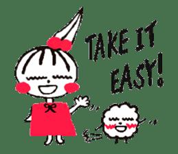 Tellas's Ringo-chan & Puppu 01 sticker #4854031