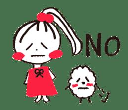 Tellas's Ringo-chan & Puppu 01 sticker #4854035