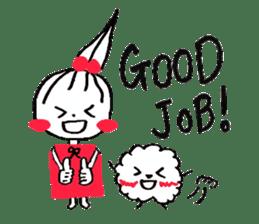 Tellas's Ringo-chan & Puppu 01 sticker #4854037