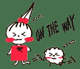 Tellas's Ringo-chan & Puppu 01 sticker #4854046