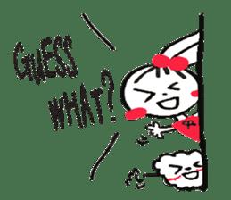 Tellas's Ringo-chan & Puppu 01 sticker #4854049
