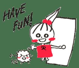 Tellas's Ringo-chan & Puppu 01 sticker #4854051