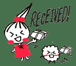 Tellas's Ringo-chan & Puppu 01 sticker #4854055