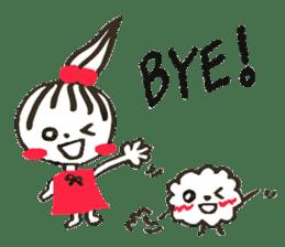Tellas's Ringo-chan & Puppu 01 sticker #4854059
