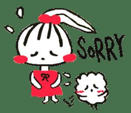 Tellas's Ringo-chan & Puppu 01 sticker #4854060