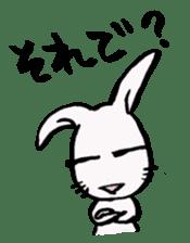 LaLaLa bunny sticker #4854827