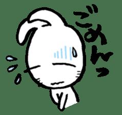 LaLaLa bunny sticker #4854833