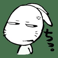 LaLaLa bunny sticker #4854841
