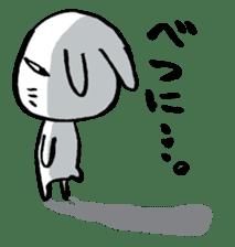 LaLaLa bunny sticker #4854843
