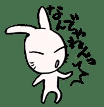 LaLaLa bunny sticker #4854844