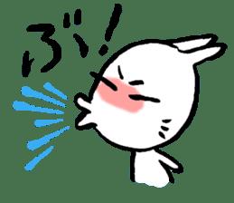 LaLaLa bunny sticker #4854850