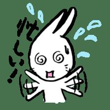 LaLaLa bunny sticker #4854854