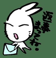 LaLaLa bunny sticker #4854855