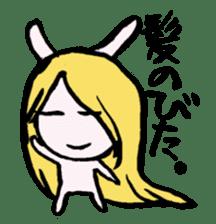LaLaLa bunny sticker #4854862