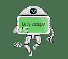 My AI Boy (English version) sticker #4855988