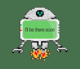My AI Boy (English version) sticker #4855991