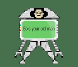My AI Boy (English version) sticker #4856023