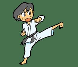 karate-sticker sticker #4856746