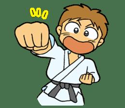 karate-sticker sticker #4856748