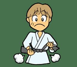 karate-sticker sticker #4856749