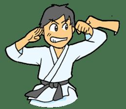 karate-sticker sticker #4856750