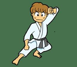 karate-sticker sticker #4856751