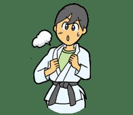 karate-sticker sticker #4856752