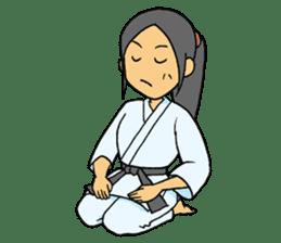 karate-sticker sticker #4856754