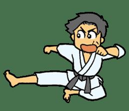 karate-sticker sticker #4856755