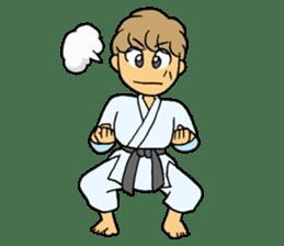 karate-sticker sticker #4856757