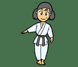 karate-sticker sticker #4856761