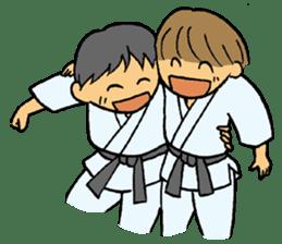 karate-sticker sticker #4856763