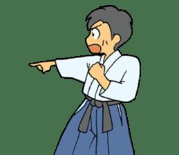 karate-sticker sticker #4856764