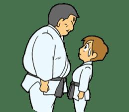 karate-sticker sticker #4856765