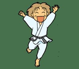 karate-sticker sticker #4856766