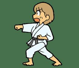 karate-sticker sticker #4856772
