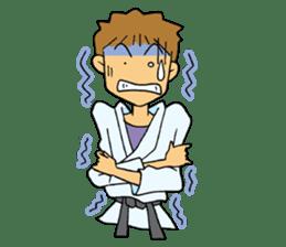 karate-sticker sticker #4856774