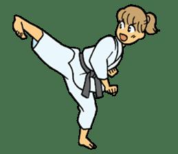 karate-sticker sticker #4856776