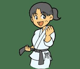 karate-sticker sticker #4856778