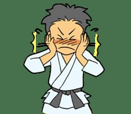 karate-sticker sticker #4856780