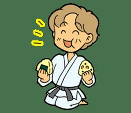 karate-sticker sticker #4856781