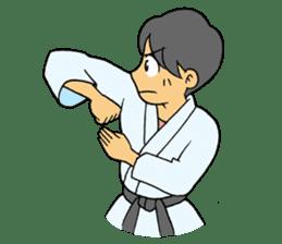 karate-sticker sticker #4856782