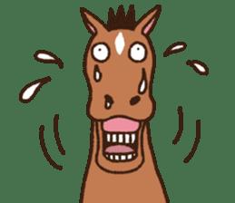 Horses sticker #4857867
