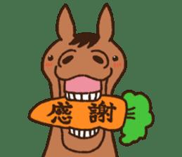 Horses sticker #4857868