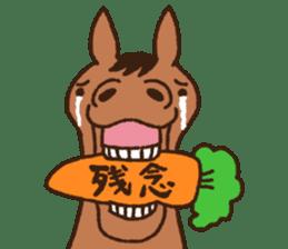 Horses sticker #4857869