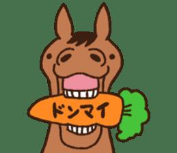 Horses sticker #4857870