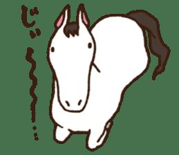 Horses sticker #4857875