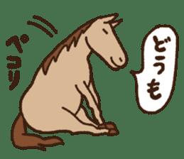Horses sticker #4857877