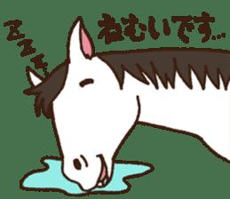Horses sticker #4857878