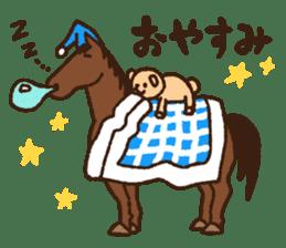 Horses sticker #4857879